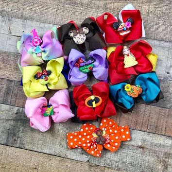 Semi RTS Character Clay Center Hairbows