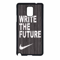 Nike Future On Wood Gray Samsung Galaxy Note 4 Case