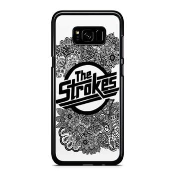 The Strokes Zentangle Logo Samsung Galaxy S8 Plus Case