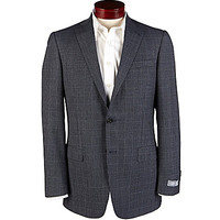 Hart Schaffner Marx New York Fit Blue Check Sportcoat - Navy
