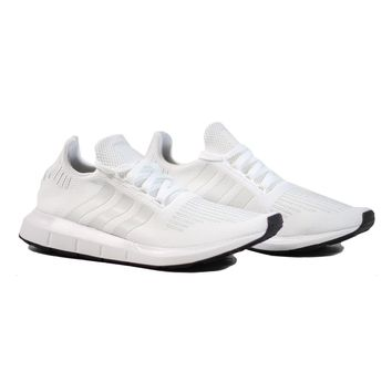 AUGUAU Adidas Swift Run - White/White
