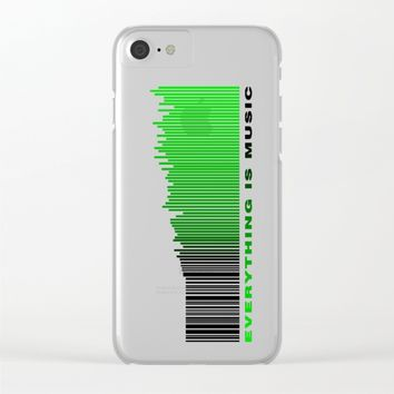 Music Everywhere Clear iPhone Case by eDrawings38