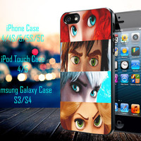 Rapunzel and The Jack Frost Samsung Galaxy S3/ S4 case, iPhone 4/4S / 5/ 5s/ 5c case, iPod Touch 4 / 5 case