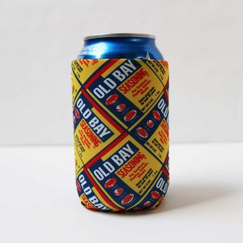 Old Bay Can Pattern / Koozie