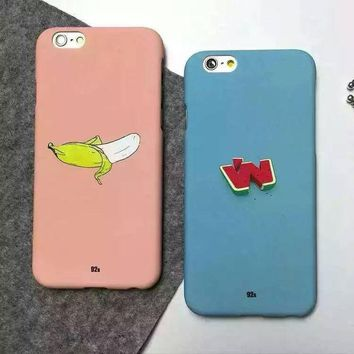 ONETOW Hot Deal Hot Sale On Sale Cute Stylish Iphone 6/6s Simple Design Lovely Watermelon Iphone Apple Phone Matte Phone Case [8864258375]