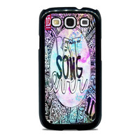 One Direction best song ever band galaxy Samsung Galaxy S3 Case
