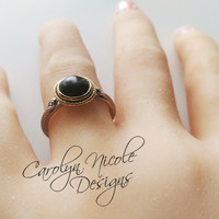 Gold Snake Ring by Carolyn Nicole Designs