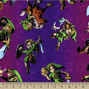 Nintendo The Legend of Zelda Print Fabric | JOANN