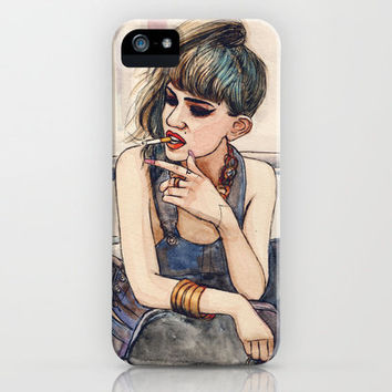 Grimes iPhone Case by Helen Green | Society6