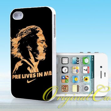 Steve Prefontaine Nike - Print on hardplastic for iPhone 4/4s and 5 case, Samsung Galaxy S3/S4 case.