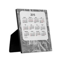 2015 Holiday Desk Calendar 5.25 x 5.25 with Easel