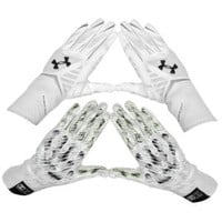 Under Armour Nitro Warp Highlight Football Gloves - Men's at Eastbay