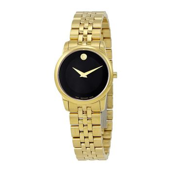 Movado Yellow Gold PVD-finished Stainless Steel Ladies Watch 0607005