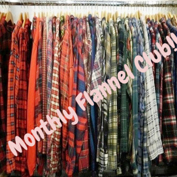 💖Auto-Ship It! - Mystery Flannel Shirts - All Colors & Sizes