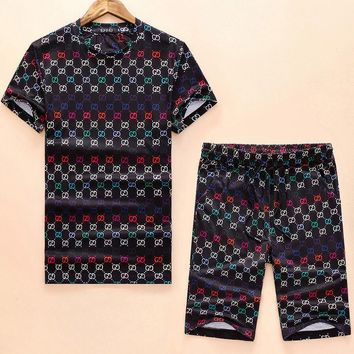 Gucci Trending Casual Print Shorts Sleeve Set Two-Piece I-A00FS-GJ
