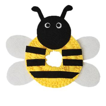 Crochet Bumble Bee Lens Buddy Hood Cover Photographer Gift - PFLH15