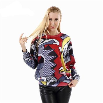 Picasso Abstract Sweatshirt