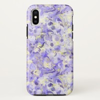 Lavender Swirling Marbled Pattern Case-Mate iPhone Case | Zazzle.co.uk