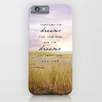 sometimes the dreams iPhone & iPod Case by Sylvia Cook Photography