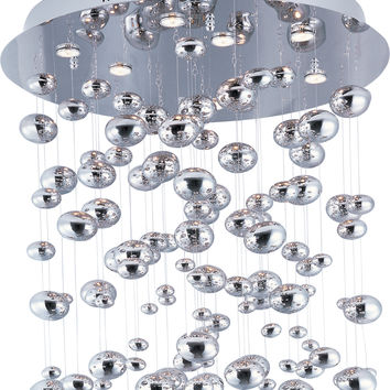 Dew 9-Light LED Chandelier 39863 Contemporary
