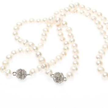 Spark Pearl Necklace