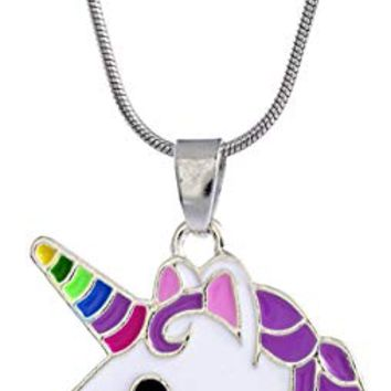 Little Girls Beautiful Pendant Necklace for Children's Delicate Gift