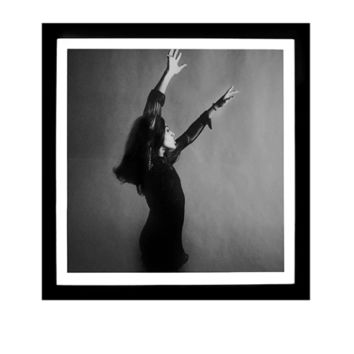 Worlds Away Tina Turner Black and White Framed Print