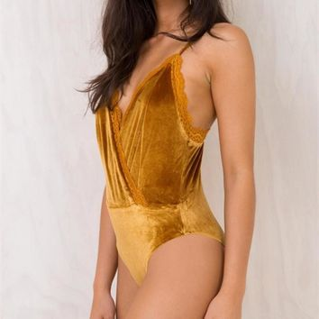 Winter Sexy V-neck Backless Romper [519714832399]