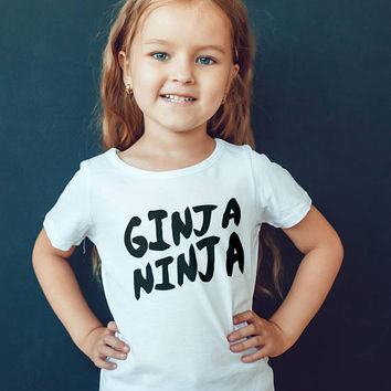Ed Sheeran Child Shirts - Ed Sheeran T-shirt - Ginger Tshirt - Ginja Ninja -