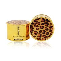 2016 Professional Makeup Leopard Pure Mineral Loose Powder With Puff Oil Control Waterproof Translucent Face Powder Cosmetic