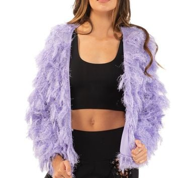 Limelight Jacket in Lavender