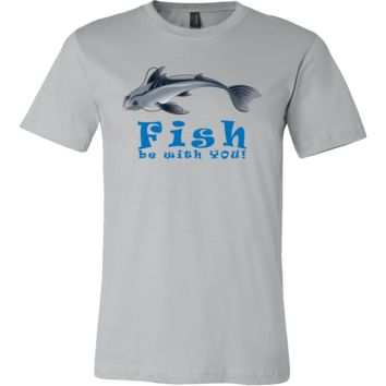 Fish Be With You Funny Fishes Swimming Tee Shirt