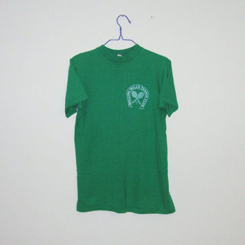 Vintage 80's Rolling Hills TENNIS CLUB T-Shirt - Size SMALL