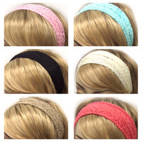 "Fashionable ""Lovely In Lace"" Headbands, HeadWraps,Women's Accessories"