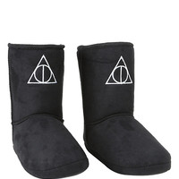 Harry Potter Deathly Hallows Slipper Boots
