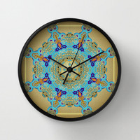 Swirl & Shine Wall Clock