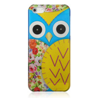 Floral Owl Phone Case For iPhone 5 from Hallomall