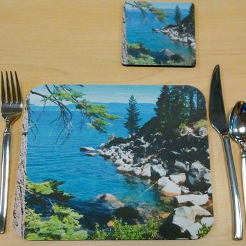 CUBICLE OFFICE PLACEMAT featuring photographic art by PonsArt $20.00