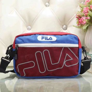 Fila Women Fashion Leather Satchel Bag Shoulder Bag Crossbody-10