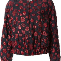 MSGM lips Bomber jacket