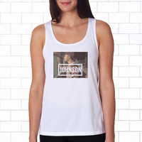 Jack Edward Johnson white Tanktop for women