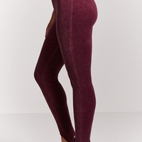 Velvet Stirrup Leggings