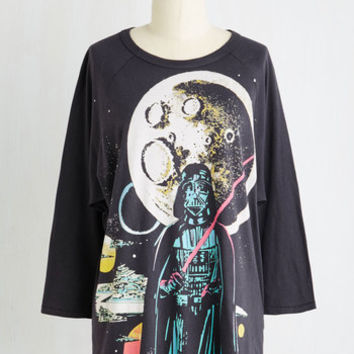Quirky Long 3 Sooner or Vader Top