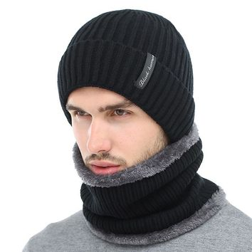 Men Knitted  Winter Hats