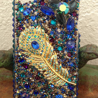 Stunning Peacock iPhone 4/4s case