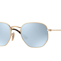 Ray-Ban HEXAGONAL FLAT LENSES Gold , RB3548N | Ray-Ban® USA