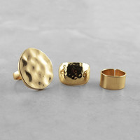 Polished Mix and Match Ring Set