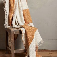 Blanket Stitch Throw by Anthropologie