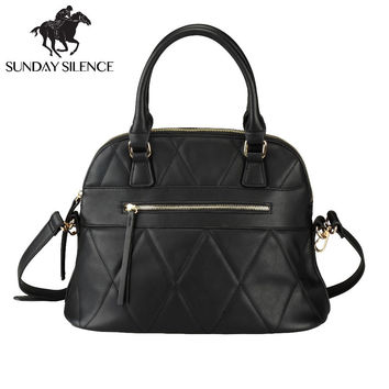 Hot Sale 2017 New Fashion Women Shell Bag High Quality Designer Embossed Handbag Luxury PU Leather Tote Bag Ladies Crossbody Bag