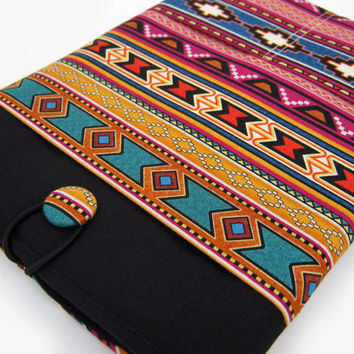Macbook Air Sleeve, Macbook Air Cover, Macbook Air 11 inch Cover, Macbook Air 11 Inch Case, Laptop Sleeve, Tribal Stripes